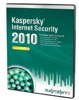 Kaspersky Internet Security 2010 Vollversion, 3 User, deutsch, DVD