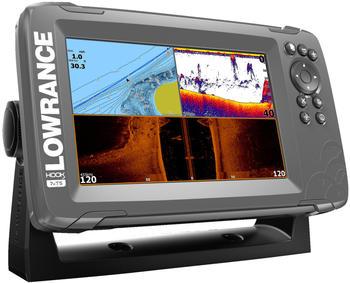 Lowrance Hook² 7x mit TripleShot-Schwinger und GPS-Plotter