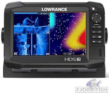 Lowrance HDS-7 Carbon StructureScan 3D