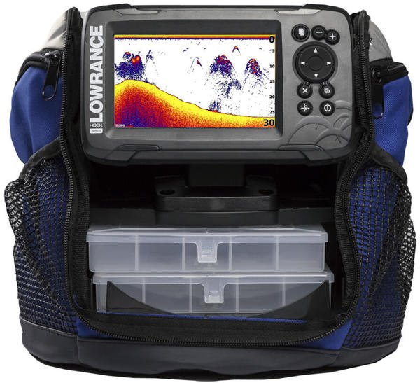 Lowrance Hook² Ice Machine with Split-Shot 2-in-1