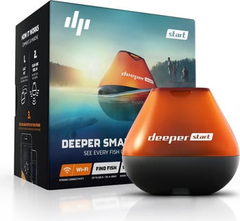 Deeper Sonar Fishfinder Start