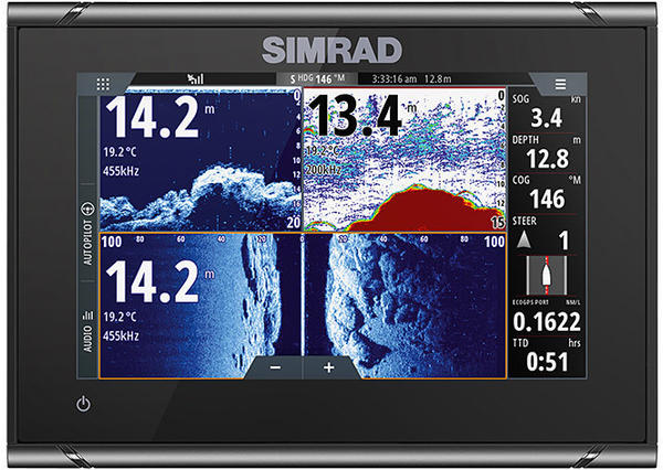 Simrad G07 XSR with TotalScan Swinger