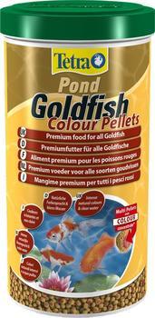 Tetra Pond Goldfish Colour Pellets 1L
