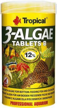 Tropical 3-Algae Tablets B 250ml