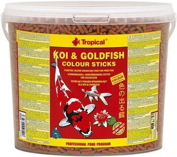Tropical Koi & Goldfish Colour Sticks Eimer 5L 450g