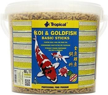 Tropical Koi & Goldfisch Basic Sticks 5L 450g