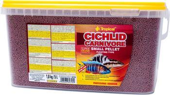 Tropical Cichlid Carnivore Small Pellet 5L