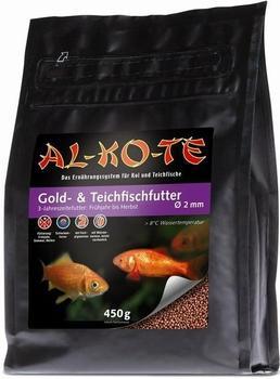 AL-KO-TE Gold- und Teichfischfutter 2mm 450g