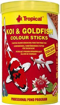 Tropical Koi & Goldfish Colour Sticks 1L 85g