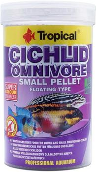 Tropical Cichlid Omnivore Small Pellet 1L