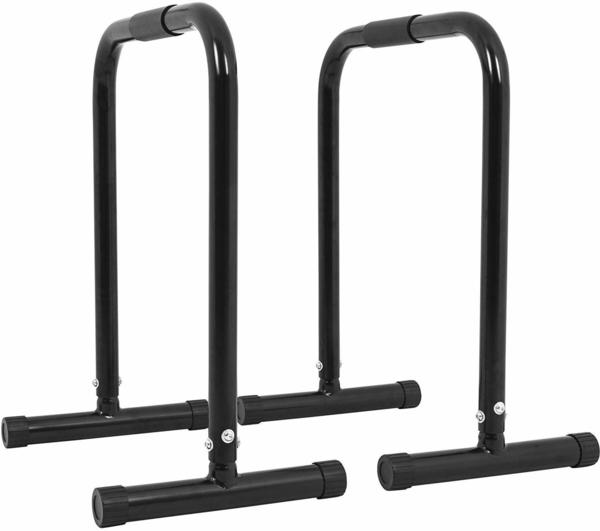 Gorilla Sports Push-Up Stand Bar Parallettes black