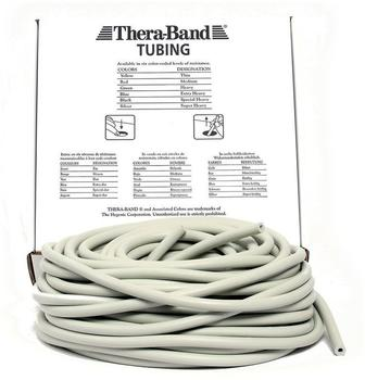 Thera Band Tubing 30,50 m silber / super stark
