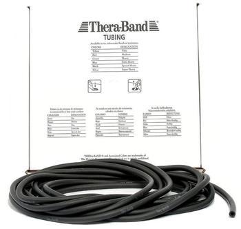 Thera Band Tubing 7,50 m schwarz / spezial stark