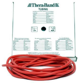 Thera Band Tubing 7,50 m rot / mittelstark