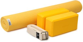 Yogistar Yogamatte Kick It - Two (Set) gelb