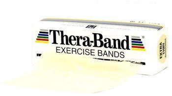 Thera Band Übungsband 12,80 cm x 5,50 m - beige / extra dünn