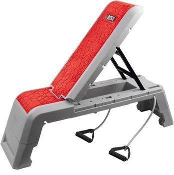 Body Sculpture Stepboard 3in1 Multifunktion Workout Bench (mit Trainingsbändern)