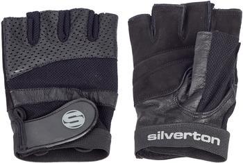 Silverton Erwachsene Trainingshandschuh Pro Plus, schwarz, L
