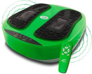 VibroLegs Vibrationsplatte VibroLegs, 30 W, 10 Intensitätsstufen, (3 tlg., mit Trainingsplan)