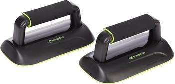 Energetics Fitnessband Trainings-Gerät, Push Up Balance Bars Black/Yellow,