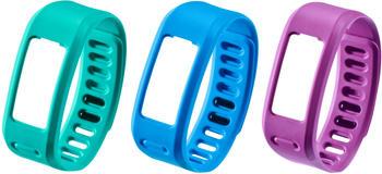 Garmin Vivofit Ersatzarmband blau, lila, türkis