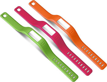 Garmin Vivofit Ersatzarmband orange, pink, grün