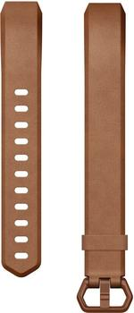 Fitbit Alta HR Leather Band brown S