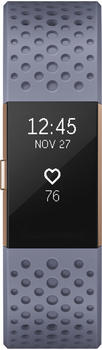 Fitbit Charge 2 blaugrau/ roségold small