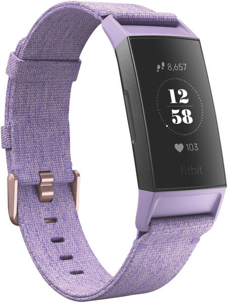 Fitbit Charge 3 lavender woven/rose-gold aluminium