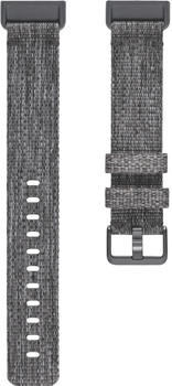 Fitbit Charge 3 Gewebearmband L dark grey