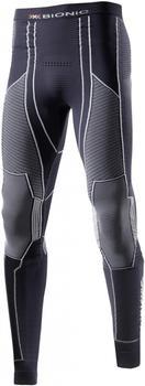 X-Bionic Moto Energizer Light Man Pants Long charcoal/pearl grey