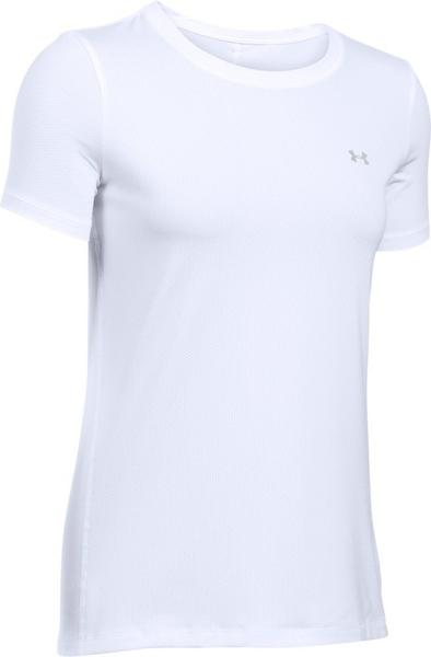 Under Armour Damen-Shirt UA HeatGear Armour (kurzärmlig) white