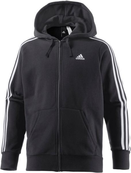 Adidas Essentials 3-Streifen Kapuzenjacke Männer Athletics black
