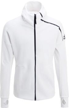 Adidas Z.N.E. FZ Strick-Hoodie Männer white