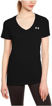 Under Armour Damen T-Shirt mit V-Ausschnitt UA Tech