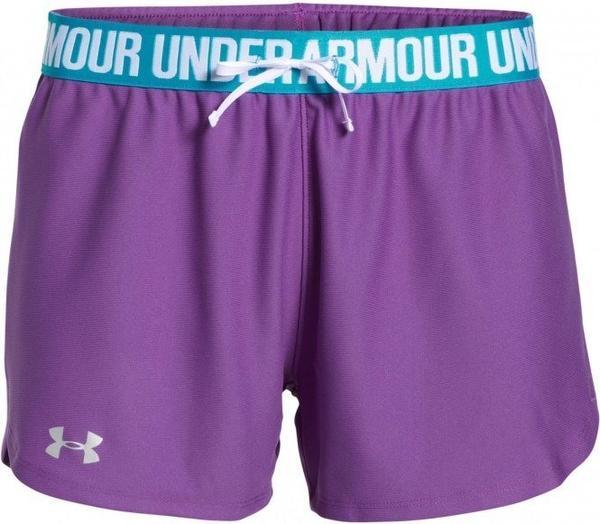 Under Armour Damen Shorts UA Play Up mega magenta