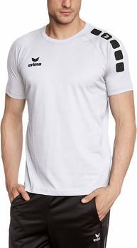 Erima Classic 5-Cubes Promo T-Shirt white