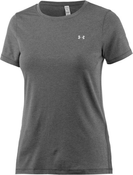 Under Armour Damen-Shirt UA HeatGear Armour (kurzärmlig) carbon heather