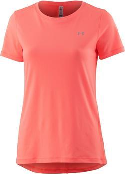 Under Armour Damen-Shirt UA HeatGear Armour (kurzärmlig) london orange