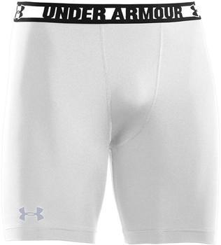 Under Armour Men's HeatGear Sonic Compression Shorts white