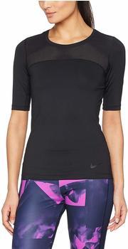 Nike Damen Trainingsshirt Pro Hypercool Top (832054-010) black/black