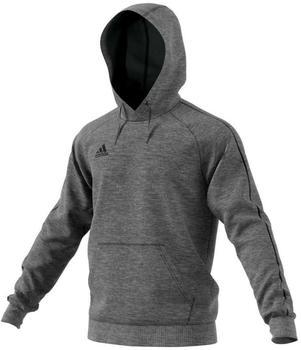 Adidas Herren Hoody Core 18 (CV3327) dark grey heather/black