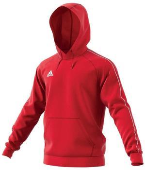 Adidas Kinder Hoody Core 18 (CV3431) power red/white