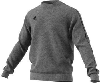 Adidas Herren Sweatshirt Core 18 (CV3960) dark grey heather/black