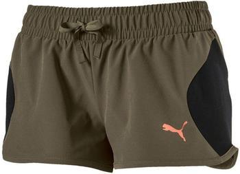 Puma Damen Shorts Transition Shorts (592325-14) olive night