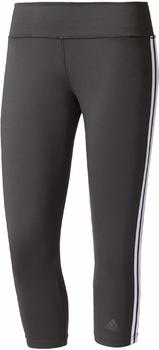 Adidas Performance Leggings Essentials 3 Stripes schwarz/weiß