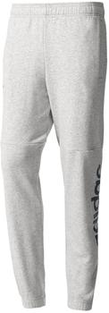 Adidas Jogginghose Essentials Linear Tapered French Terry Pant grau