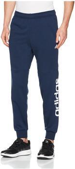Adidas Jogginghose Essentials Linear Tapered Pant French Terry Mit Logoschriftzug Am Hosenbein marine