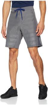 Adidas Shorts Crazytrain Elite Mit Windstopper Reißverschlusstasche grau