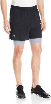 Under Armour Qualifier 2-in-1 Shorts Men (1289625) black